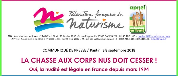 Chasse aux corps nus